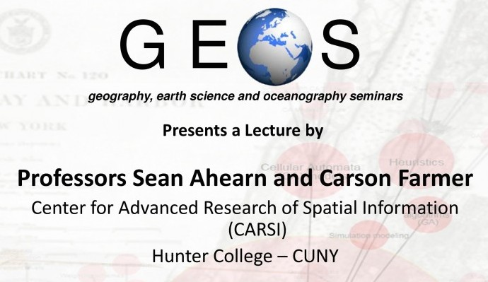 GEOS Seminar Series Announcement